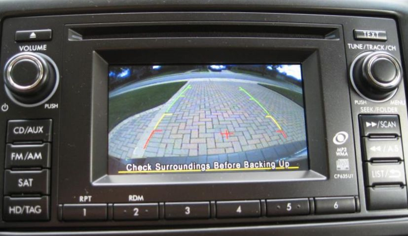 First Team Subaru >> Subaru Backup Camera System