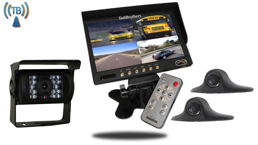 10.5 Inch Wireless Ultimate RV Trailer Backup Camera System