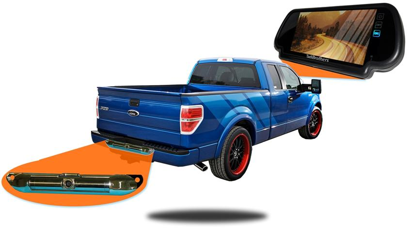 Backup camera system for pickup trucks | SKU78599