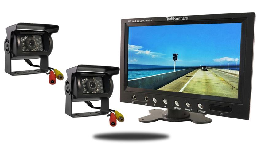 120 degree wired rv backup camera with 10.5