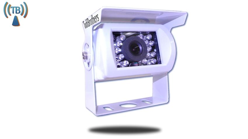 120° White RV Backup Wireless Camera (Birds Eye View) | SKU93157