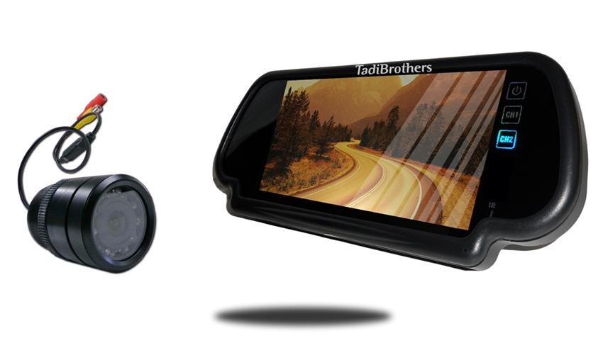 7-Inch Mirror Monitor with 120° Bumper Backup Camera   SKU20189