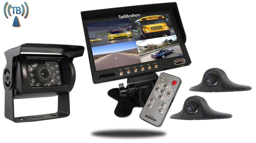 9'' Wireless Ultimate RV Backup Camera System