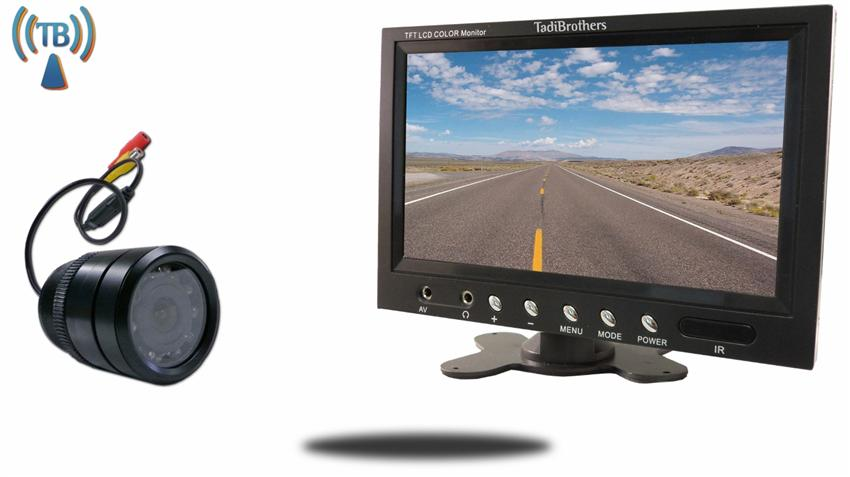 7 inch Monitor and a Wireless 170 degree Bumper Backup Camera (Great for an RV or Car)