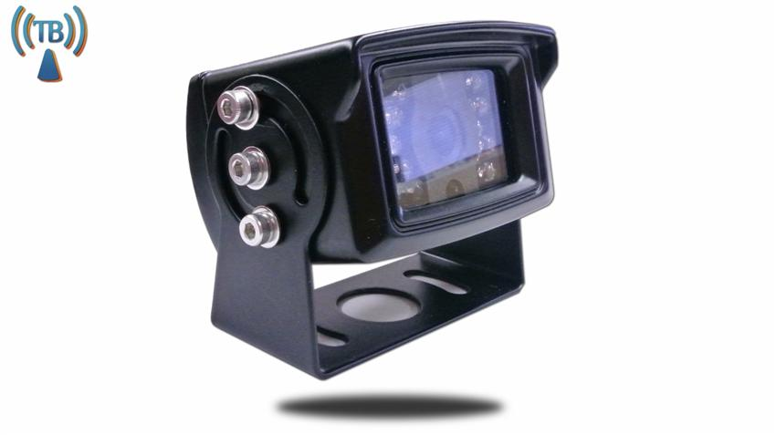 Heavy duty bolts located on the side of the camera allow perfect and stable positioning