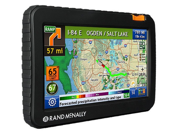rand mcnally 7 inch truck gps tnd 720 with optional backup camera lifetime map updates included. Black Bedroom Furniture Sets. Home Design Ideas