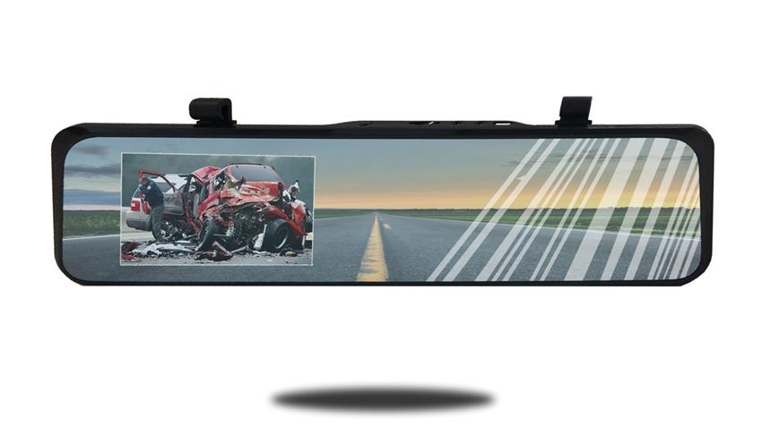 Ultra thin rearview mirror monitor | HD Dash Camera | SKU56919