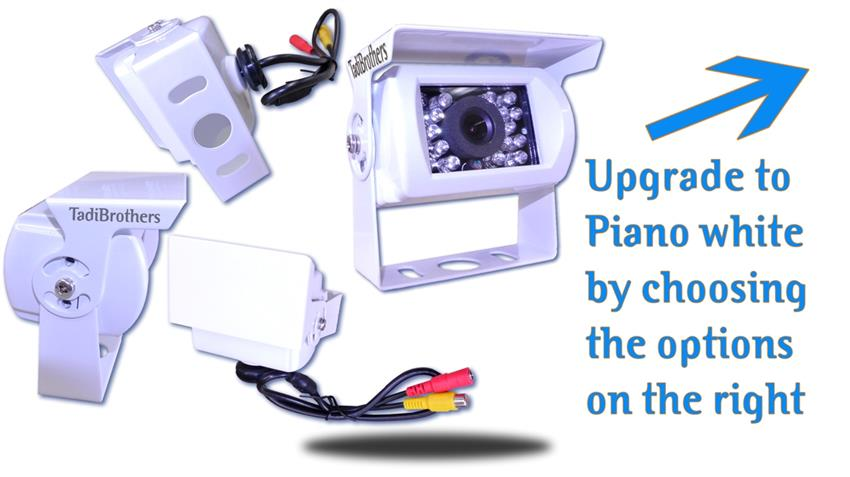 9 inch monitor wireless ccd mounted rv backup camera the mounted rv wireless rear view camera is also available a piano white metallic