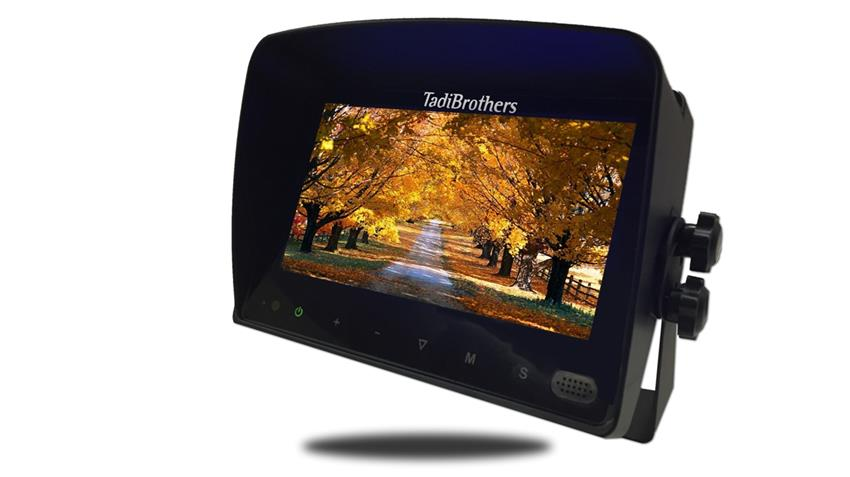 7-Inch Color Monitor with Audio for any Shutter Camera (up to 4 cameras) | SKU57919