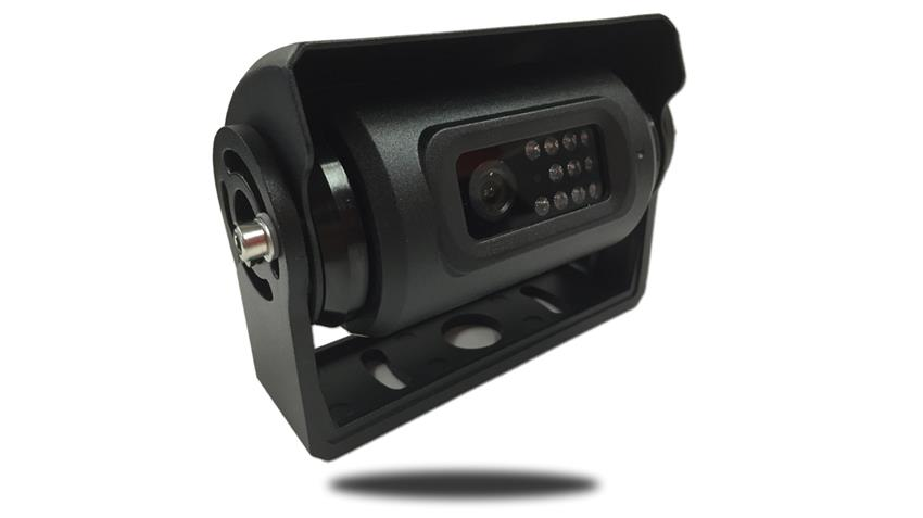 The 120 degree elite triple shutter RV backup camera is the ultimate in versatility! Motorized adjustment points at hitch and the road!