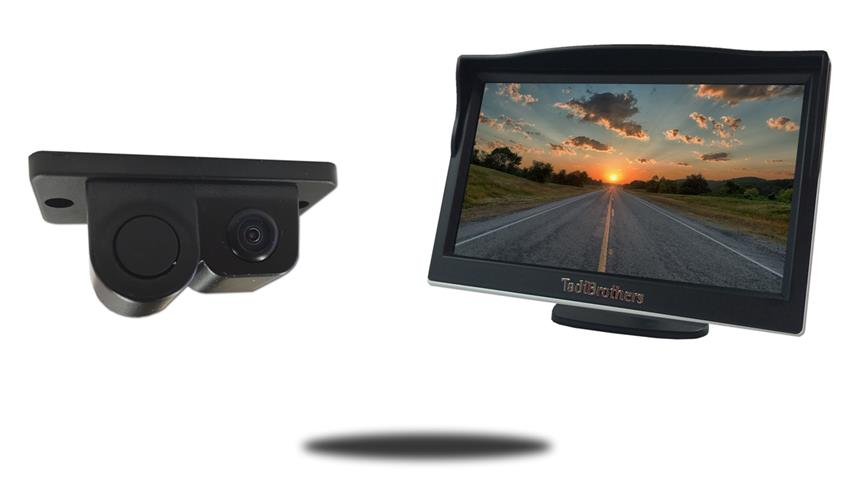 Monitor with Camera and Sensor