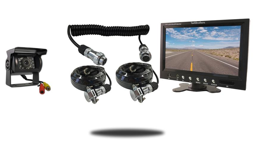 RV Backup Camera with Monitor and Quick Disconnect Cable | SKU-23818