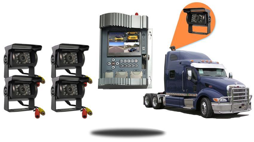semi truck backup cameras with mobile dvr tadibrothers. Black Bedroom Furniture Sets. Home Design Ideas
