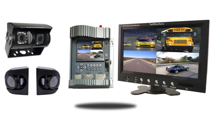 DVR with Cameras and Monitor