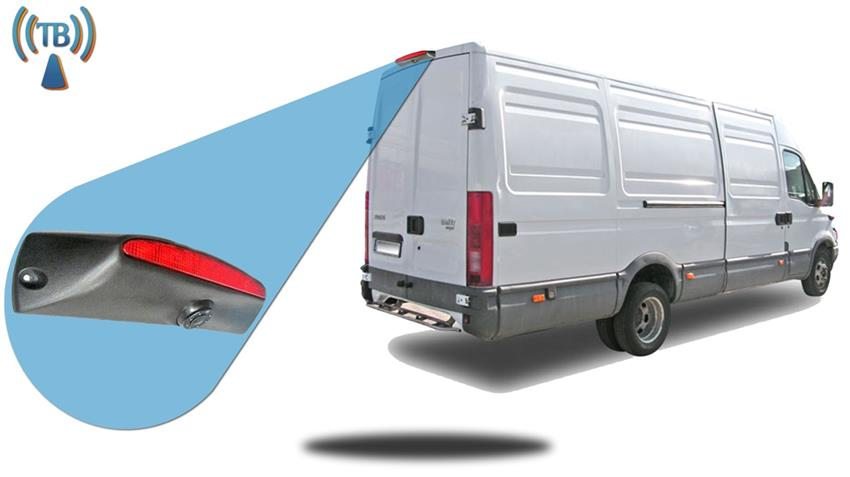 Iveco Daily Van Wireless 3rd Brake Light Backup Camera System