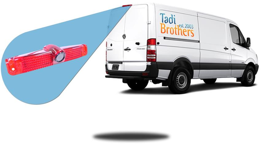 Mercedes Benz Sprinter Van Third Brake Light Backup Camera|SKU896875