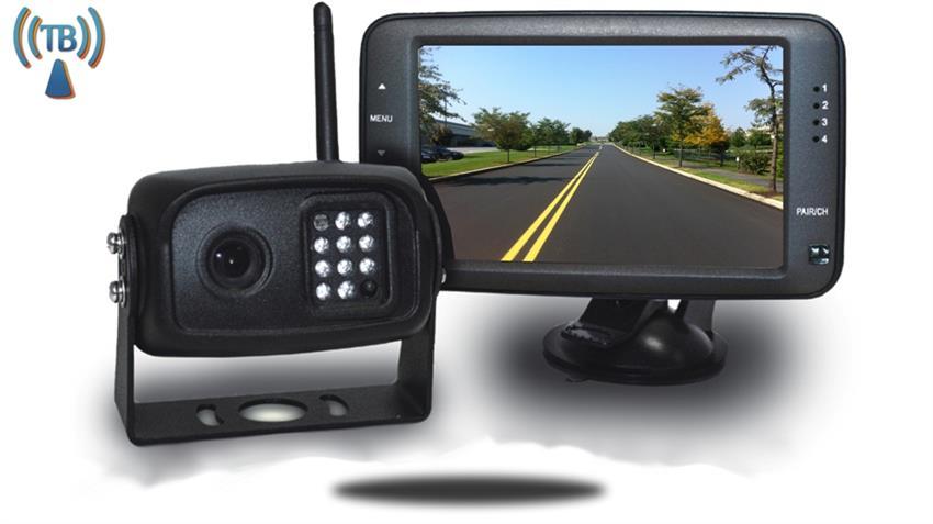 digital wireless pickup truck backup camera 3 5 inch monitor. Black Bedroom Furniture Sets. Home Design Ideas
