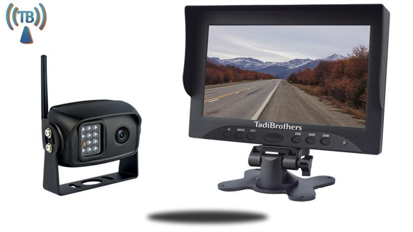 digital wireless backup camera system for pickup truck. Black Bedroom Furniture Sets. Home Design Ideas