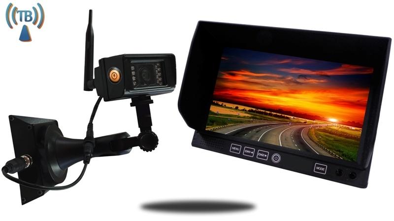 Portable Backup Camera with Magnetic Base a 7-Inch Screen 18 Hour Battery 150 ft Digital Range SKU-90140