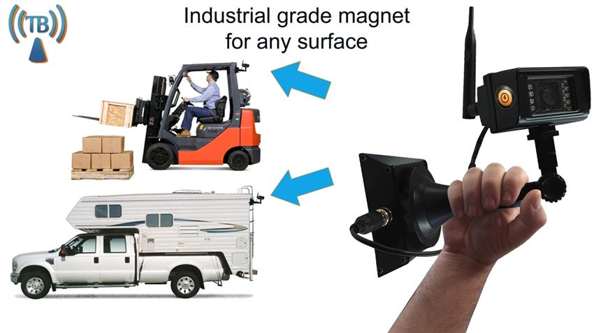 Portable Magnetic Digital Wireless Rv Backup Camera System