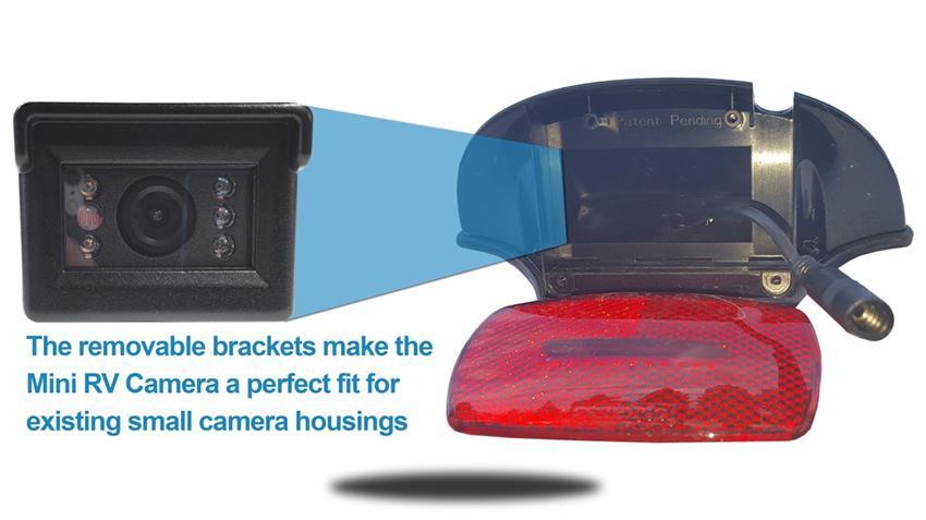 Wireless Mini Rv Backup Camera System Compatible With
