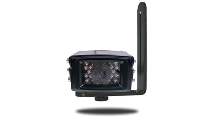 Back up camera mounted on the L Bracket