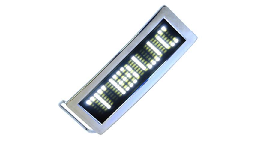 White LED Belt Buckle