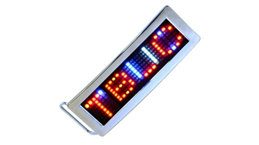 Multi Color LED Belt Buckle