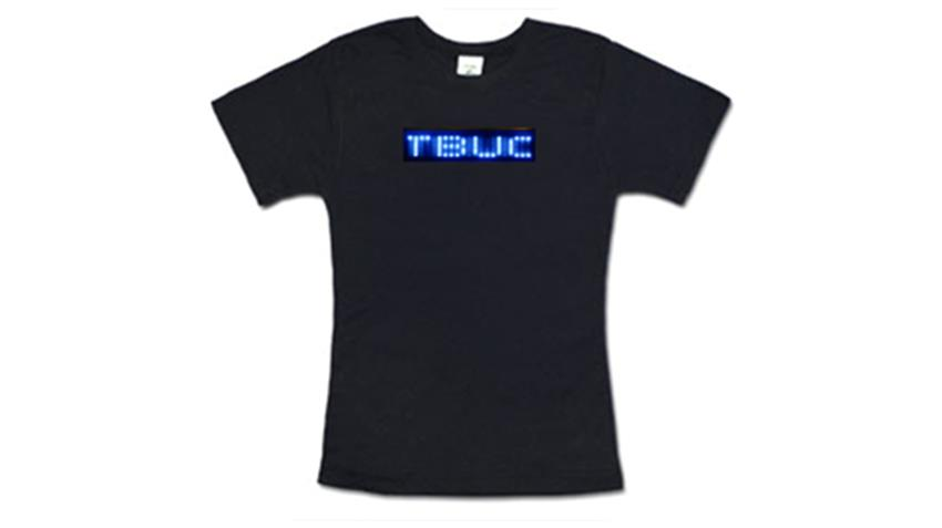 BLUE LED T-Shirt