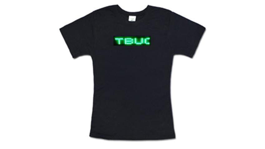 Green LED Shirt