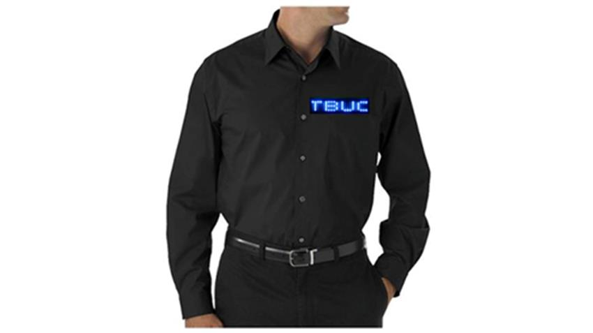 Blue LED Dress Shirt
