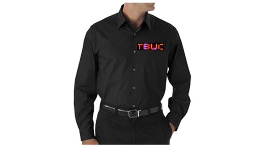 Multi LED Dress Shirt