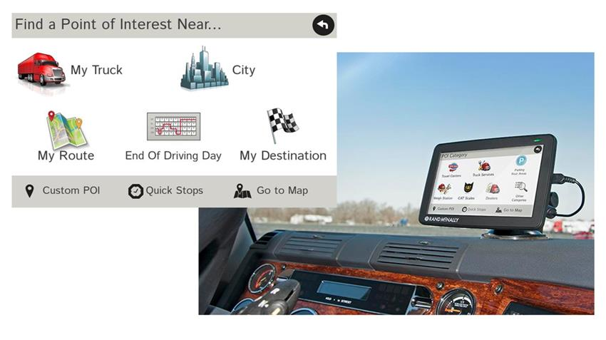 Rand Mcnally Gps >> Rand Mcnally 7 Inch Truck Gps Tnd 730 With Optional Backup Camera Lifetime Map Updates Included