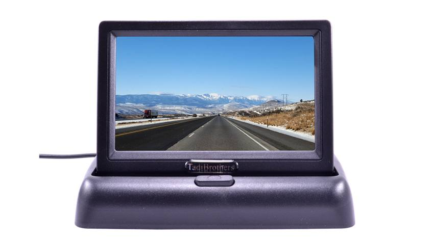 4.5 inch Pop-up LCD Monitor for any Backup Camera