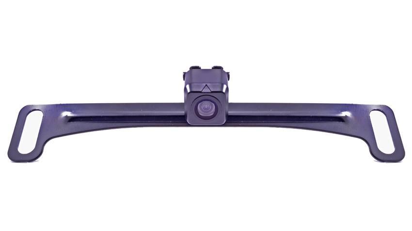 120° Concealed Black License Plate Backup Camera (Hi-Res Wireless) | SKU63908