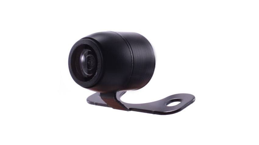Forward facing 'bullet' camera. Can be mounted on the dash or in many other locations on the front of your car, truck, RV, and more. SKU76826