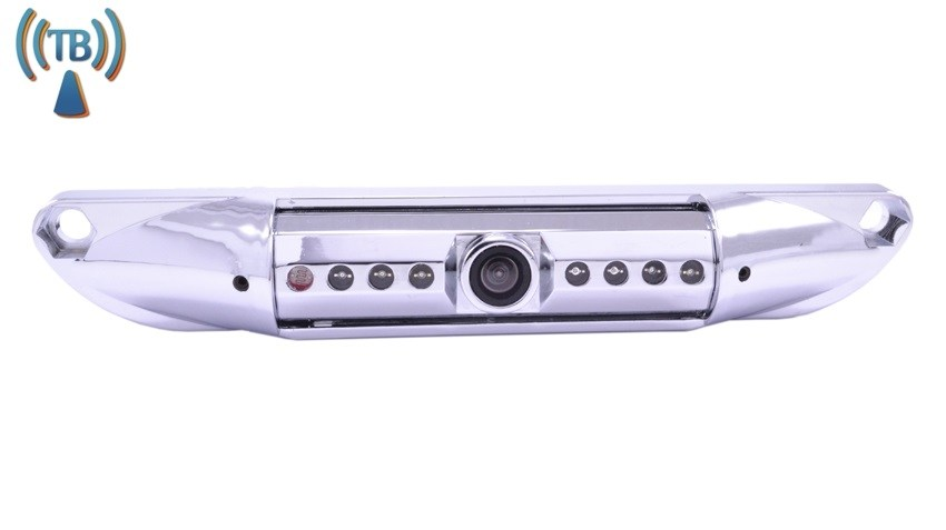 120° Degree Silver License Plate Car Camera (Hi-Res Wireless CCD) | SKU93098