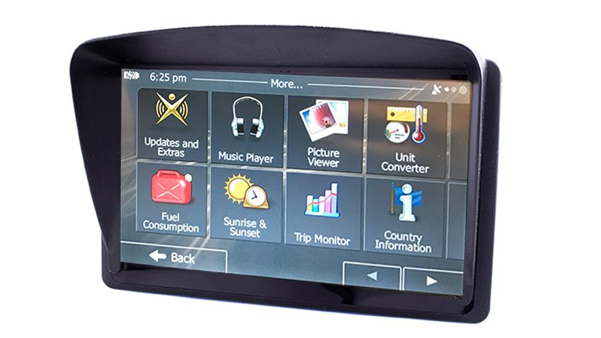 Back Up Cameras >> 7 Inch Dash Mounted Gps Navigation System With Optional Backup Camera