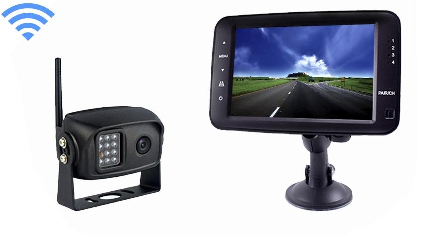 Digital Wireless Backup Camera System For Pickup Truck