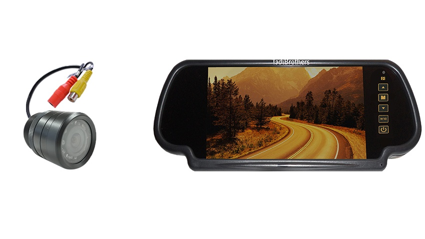 7-Inch Mirror Monitor with 120° Bumper Backup Camera | SKU20189