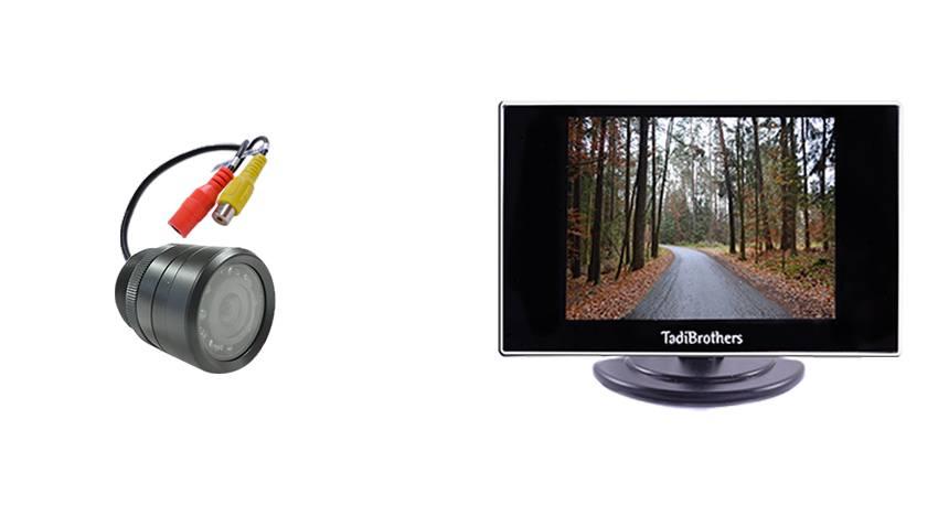 3.5 Monitor with bumper aftermarket Backup camera