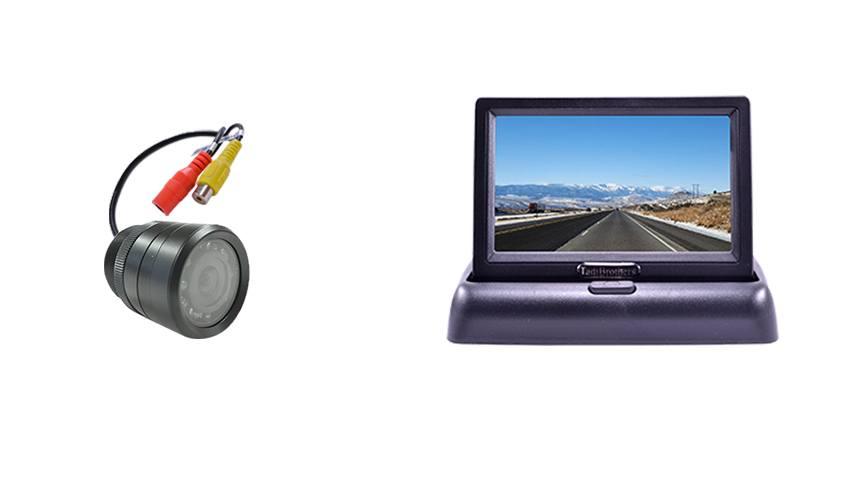 Aftermarket Bumper Backup Camera & Pop Up Monitor
