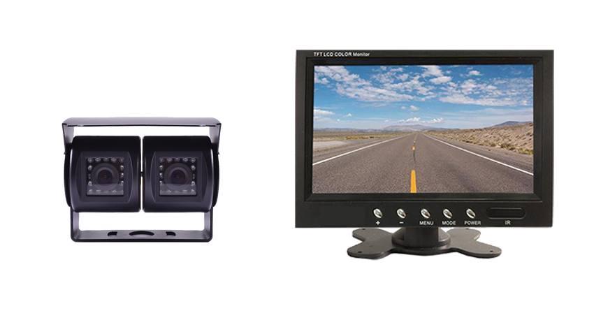 Wired Dual lens RV Backup Camera Kit | 7-Inch Monitor | SKU 36311