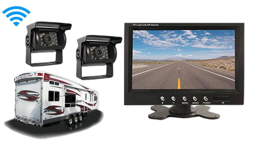 Toy Hauler Backup Camera System | SKU48858