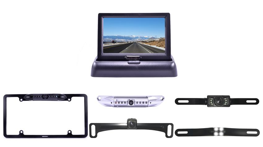 License Plate Backup Camera for cars