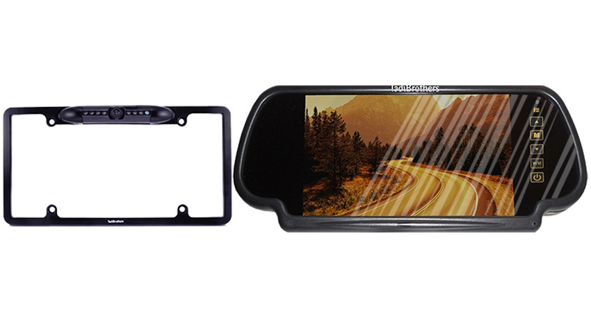 Aftermarket backup cameras for cars