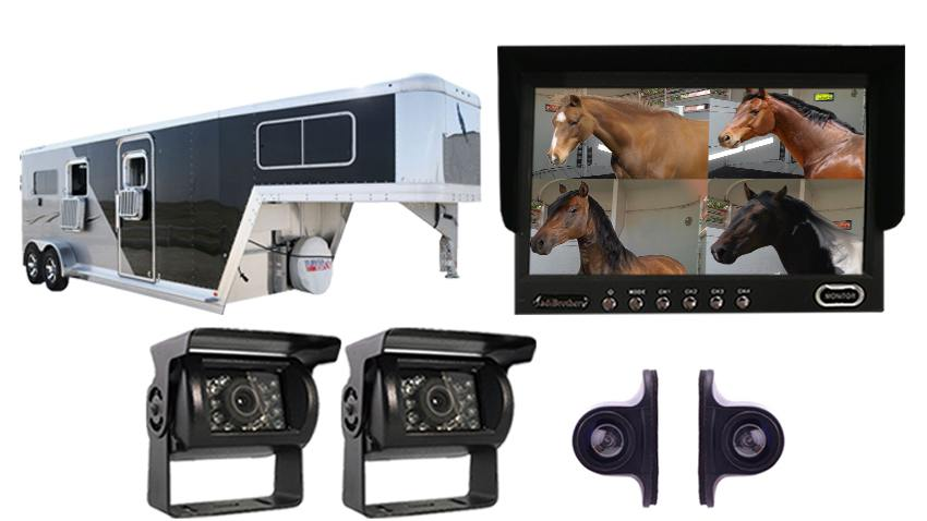 Horse Trailer Backup Camera Surveillance Kit | SKU912393