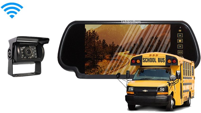 School Bus Backup Camera | Commercial backup camera system
