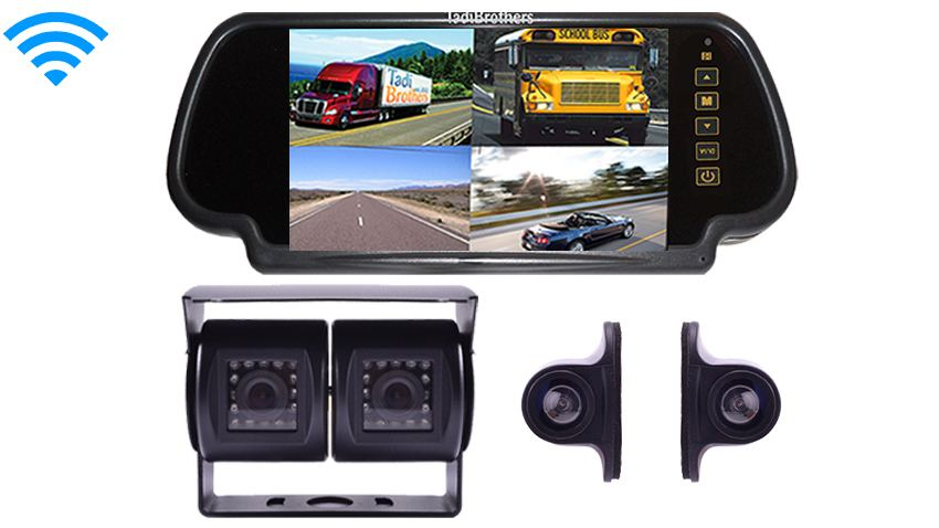 Wireless 5th wheel Backup Camera system