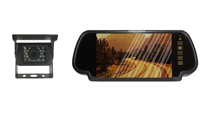 Backup Camera system | Clip on Mirror Monitor | SKU43199